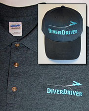 DiverDriver shirt+hat