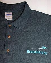 DiverDriver polo shirt